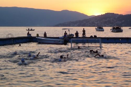 Vodni polo v Kotorskem zalivu