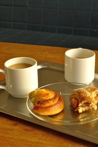 kahvi ja pulla v Rovaniemi